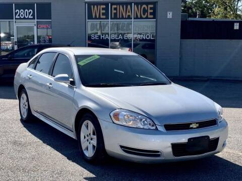 2010 Chevrolet Impala for sale at Stanley Direct Auto in Mesquite TX