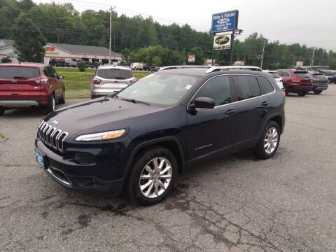 2015 Jeep Cherokee for sale at Ripley & Fletcher Pre-Owned Sales & Service in Farmington ME
