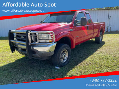 2003 Ford F-250 Super Duty for sale at Affordable Auto Spot in Houston TX
