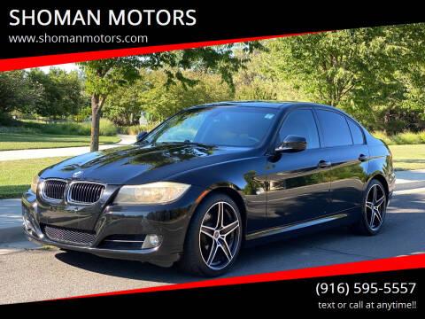 2009 BMW 3 Series for sale at SHOMAN MOTORS in Davis CA