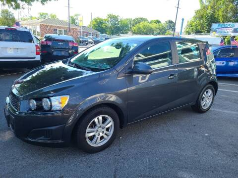 2015 Chevrolet Sonic for sale at Bridge Auto Group Corp in Salem MA