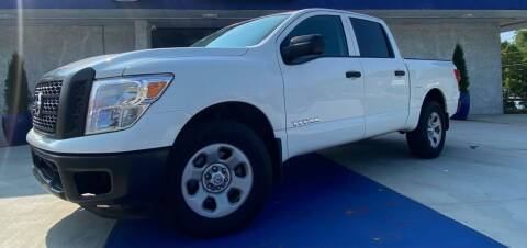 2017 Nissan Titan for sale at El Camino Auto Sales Gainesville in Gainesville GA