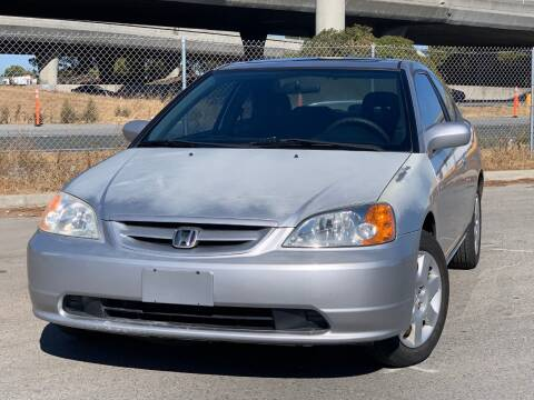 2001 Honda Civic for sale at Continental Car Sales in San Mateo CA