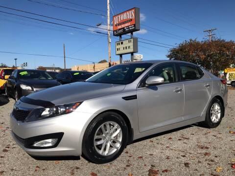 2013 Kia Optima for sale at Autohaus of Greensboro in Greensboro NC