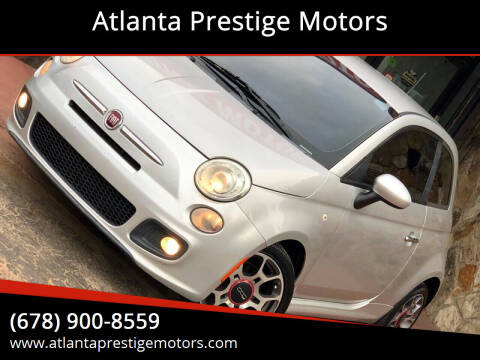 2012 FIAT 500 for sale at Atlanta Prestige Motors in Decatur GA