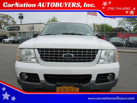 2003 Ford Explorer for sale at CarNation AUTOBUYERS, Inc. in Rockville Centre NY