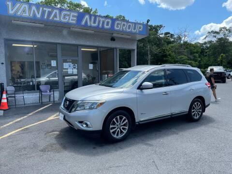 2014 Nissan Pathfinder Hybrid for sale at Vantage Auto Group in Brick NJ