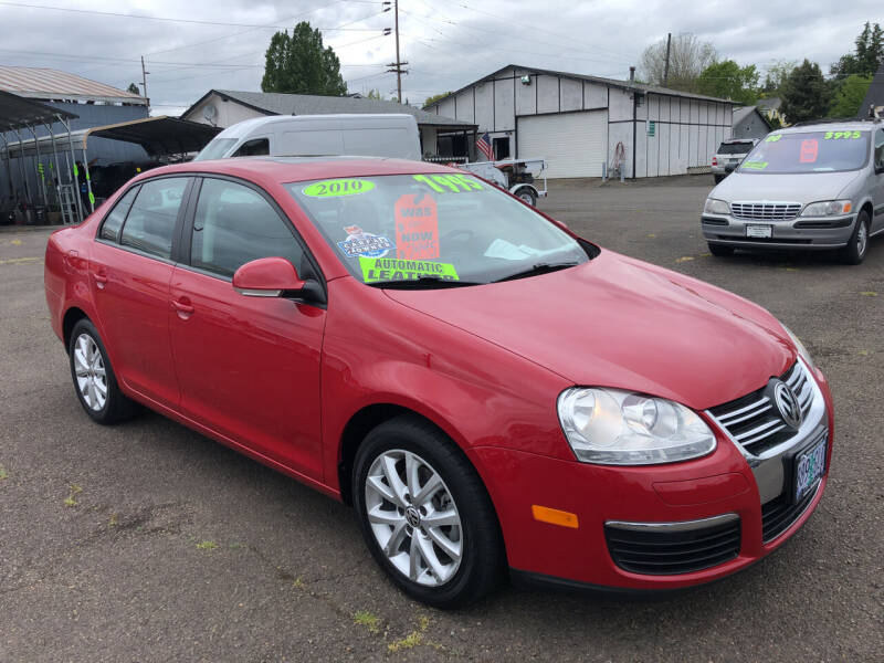 2010 Volkswagen Jetta for sale at Freeborn Motors in Lafayette, OR