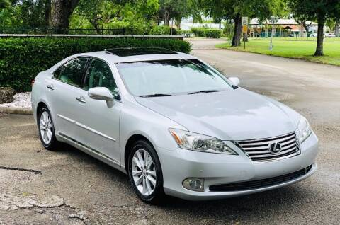 2011 Lexus ES 350 for sale at Sunshine Auto Sales in Oakland Park FL