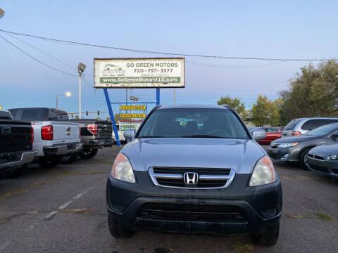 2004 Honda CR-V for sale at GO GREEN MOTORS in Lakewood CO