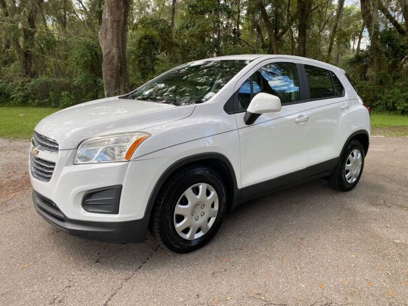 2016 Chevrolet Trax for sale at Right Price Auto Sales-Gainesville in Gainesville FL