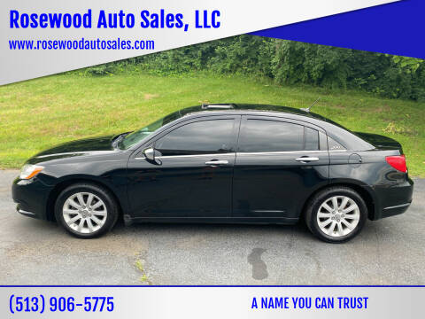 2014 Chrysler 200 for sale at Rosewood Auto Sales, LLC in Hamilton OH