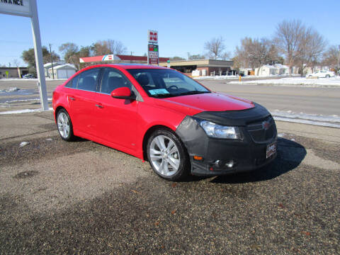 2014 Chevrolet Cruze for sale at Padgett Auto Sales in Aberdeen SD