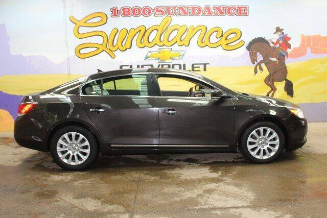 2013 Buick LaCrosse for sale at Sundance Chevrolet in Grand Ledge MI