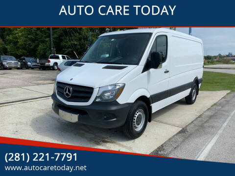 2014 Mercedes-Benz Sprinter Cargo for sale at AUTO CARE TODAY in Spring TX