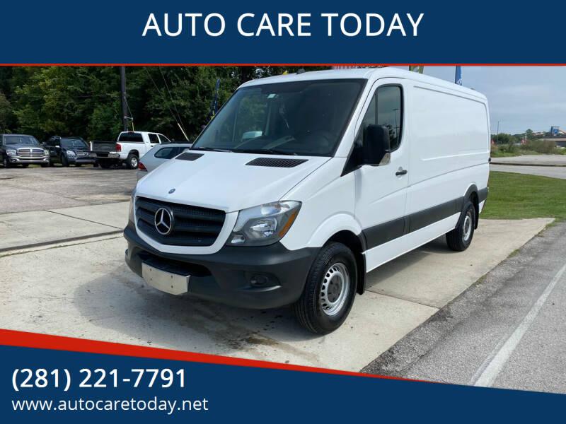2014 Mercedes-Benz Sprinter Cargo for sale at AUTO CARE TODAY in Spring TX