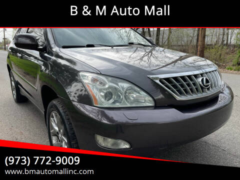 2009 Lexus RX 350 for sale at B & M Auto Mall in Clifton NJ
