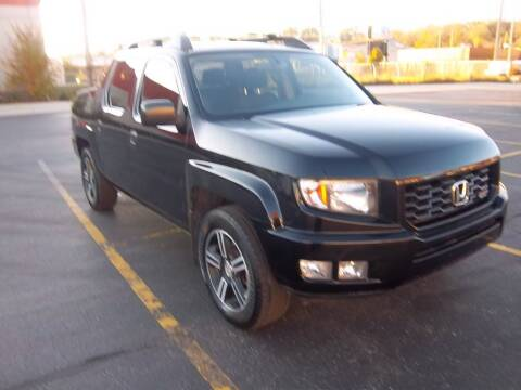 2013 Honda Ridgeline for sale at First Rate Motors in Milwaukee WI