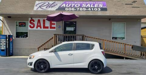 2014 Chevrolet Sonic for sale at Ritz Auto Sales, LLC in Paintsville KY