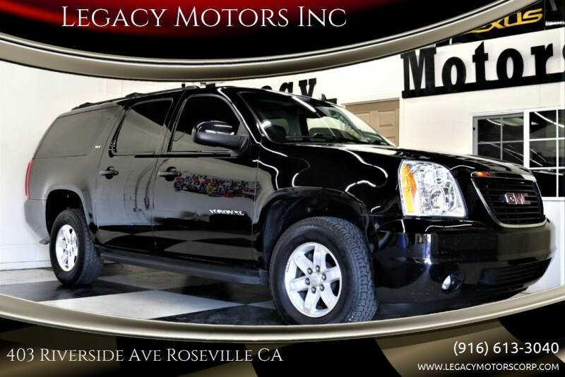 2014 GMC Yukon XL for sale at Legacy Motors Inc in Roseville CA