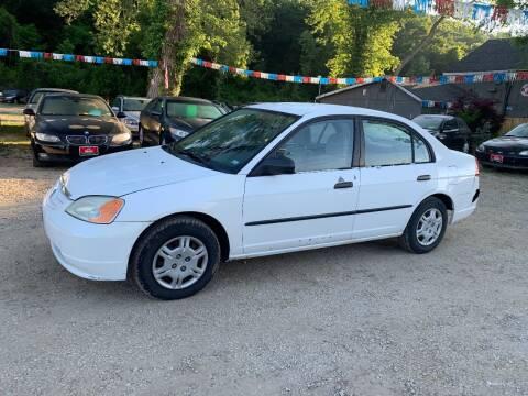 2002 Honda Civic for sale at Korz Auto Farm in Kansas City KS