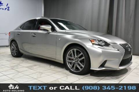 2015 Lexus IS 350 for sale at AUTO HOLDING in Hillside NJ