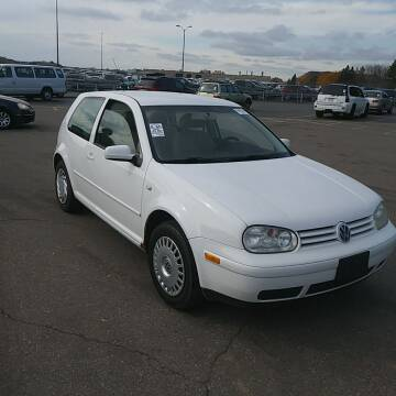 2002 Volkswagen Golf for sale at WB Auto Sales LLC in Barnum MN