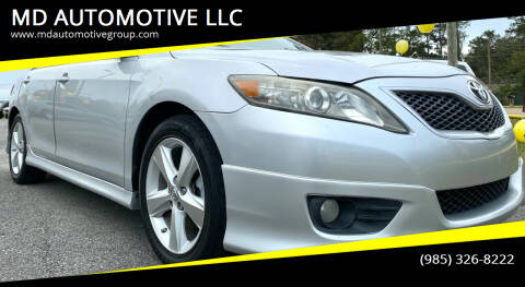 2011 Toyota Camry for sale at MD AUTOMOTIVE LLC in Slidell LA