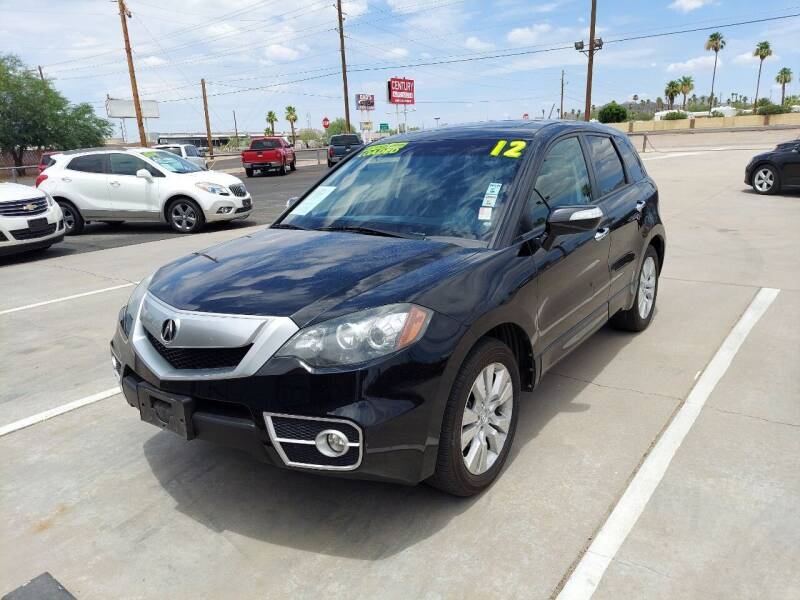 2012 Acura RDX for sale at Century Auto Sales in Apache Junction AZ