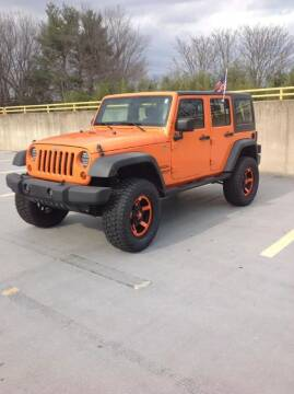 2012 Jeep Wrangler Unlimited for sale at Limitless Garage Inc. in Rockville MD