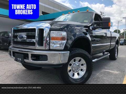 2008 Ford F-250 Super Duty for sale at TOWNE AUTO BROKERS in Virginia Beach VA