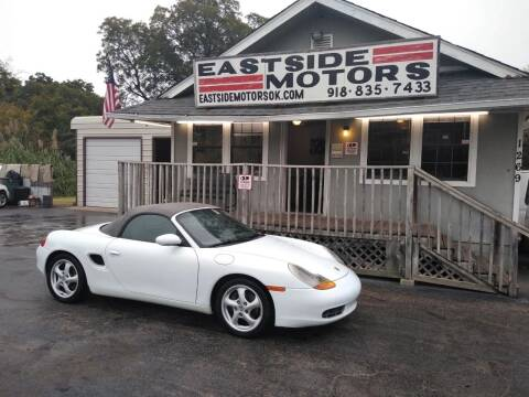 1999 Porsche Boxster for sale at EASTSIDE MOTORS in Tulsa OK