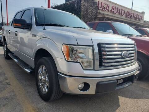 2011 Ford F-150 for sale at USA Auto Brokers in Houston TX