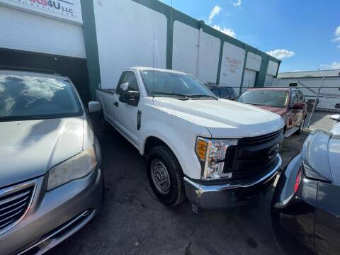 2019 Ford F-250 Super Duty for sale at Dream Cars 4 U in Hollywood FL