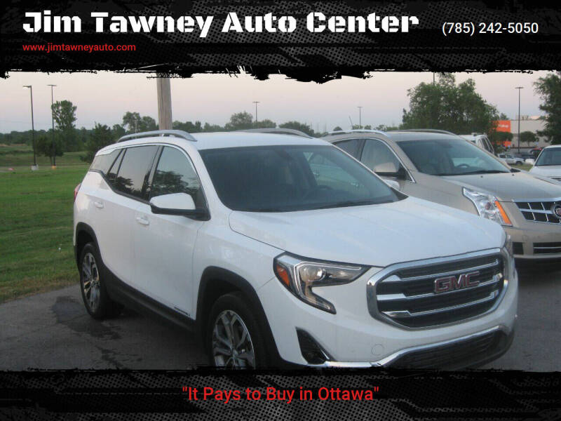 2019 GMC Terrain for sale at Jim Tawney Auto Center Inc in Ottawa KS