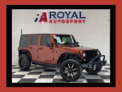 2014 Jeep Wrangler Unlimited for sale at Royal AutoSport in Sacramento CA