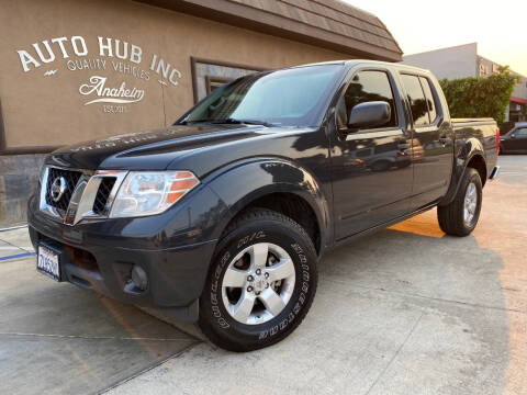 2012 Nissan Frontier for sale at Auto Hub, Inc. in Anaheim CA