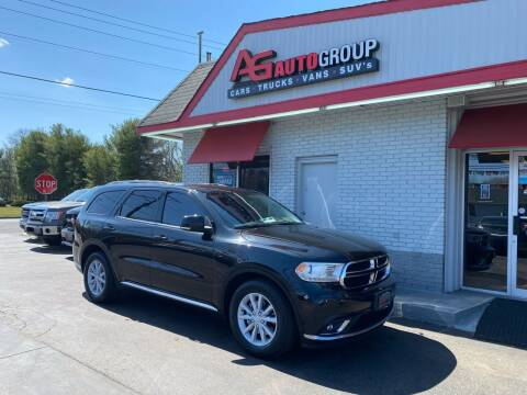 2014 Dodge Durango for sale at AG AUTOGROUP in Vineland NJ
