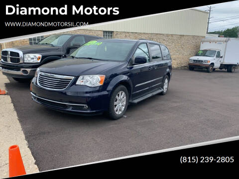 2013 Chrysler Town and Country for sale at Diamond Motors in Pecatonica IL