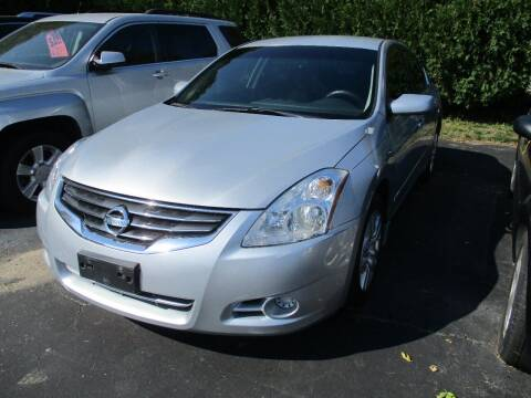 2010 Nissan Altima for sale at SPRINGFIELD AUTO SALES in Springfield WI