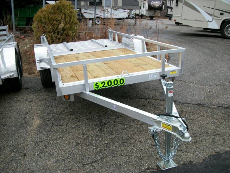 2021 Quality Steel 5X10 for sale at Olde Bay RV in Rochester NH