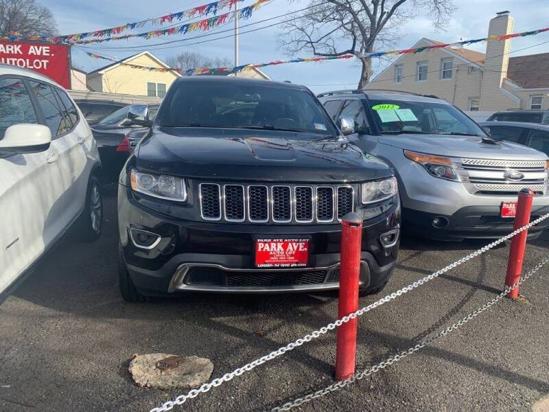2014 Jeep Grand Cherokee for sale at Park Avenue Auto Lot Inc in Linden NJ