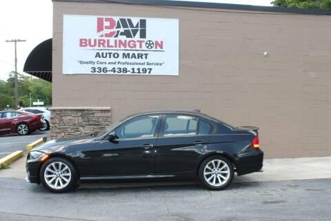 2011 BMW 3 Series for sale at Burlington Auto Mart in Burlington NC