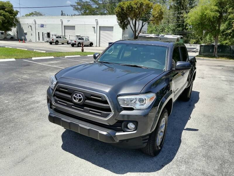 2017 Toyota Tacoma for sale at Best Price Car Dealer in Hallandale Beach FL