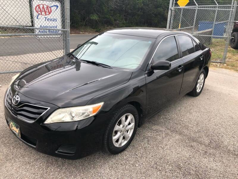 2011 Toyota Camry for sale at Central Automotive in Kerrville TX