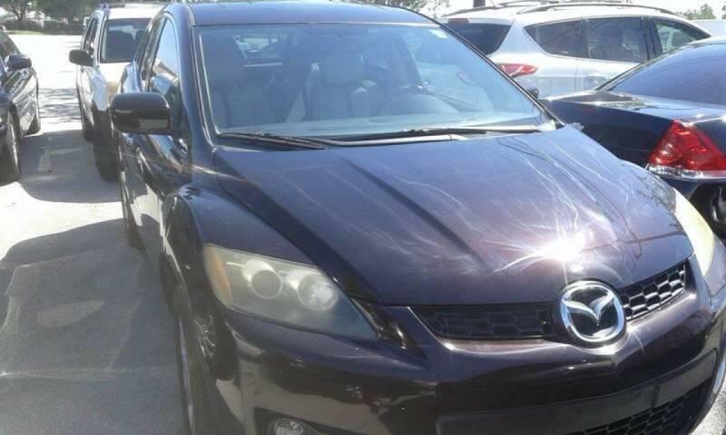 2007 Mazda CX-7 for sale at LAND & SEA BROKERS INC in Pompano Beach FL