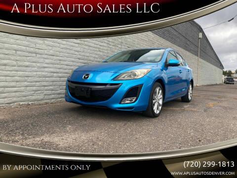 2010 Mazda MAZDA3 for sale at A Plus Auto Sales LLC in Denver CO