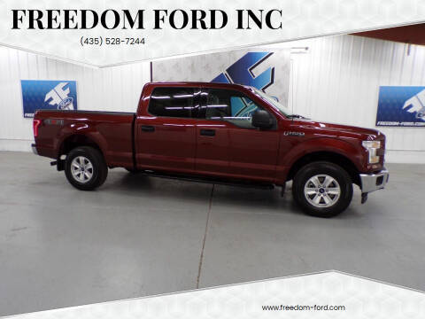 2017 Ford F-150 for sale at Freedom Ford Inc in Gunnison UT