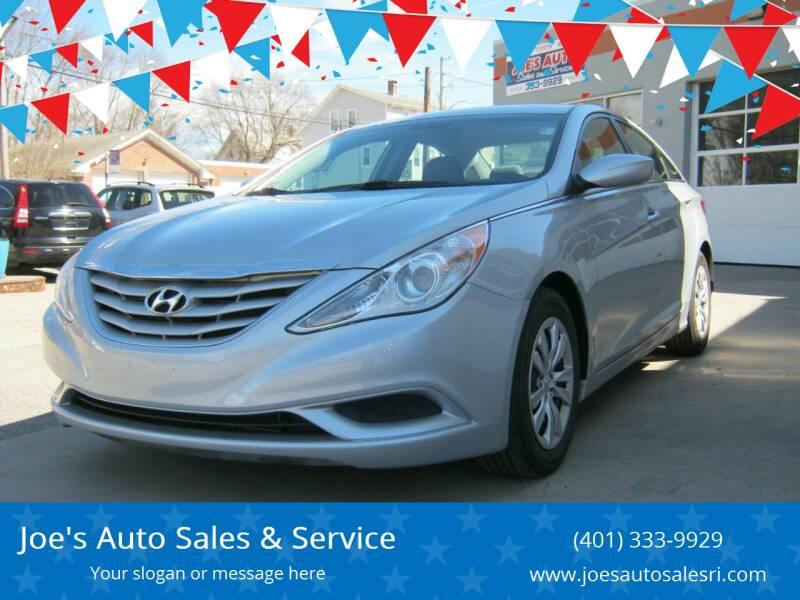 2011 Hyundai Sonata for sale at Joe's Auto Sales & Service in Cumberland RI