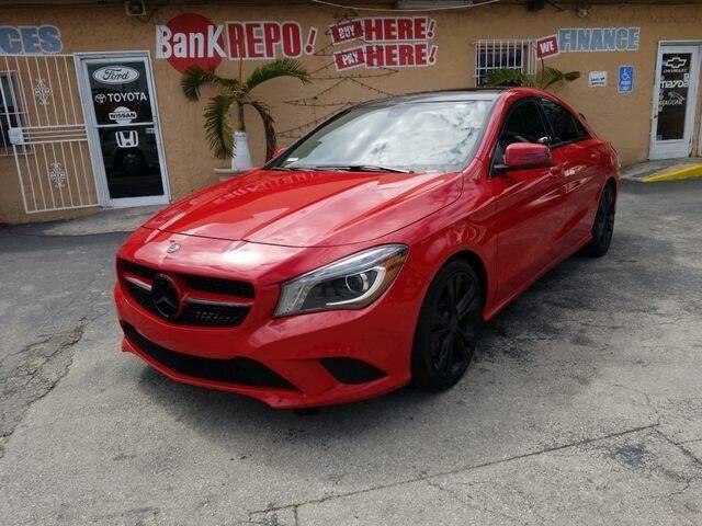 2014 Mercedes-Benz CLA for sale at VALDO AUTO SALES in Miami FL